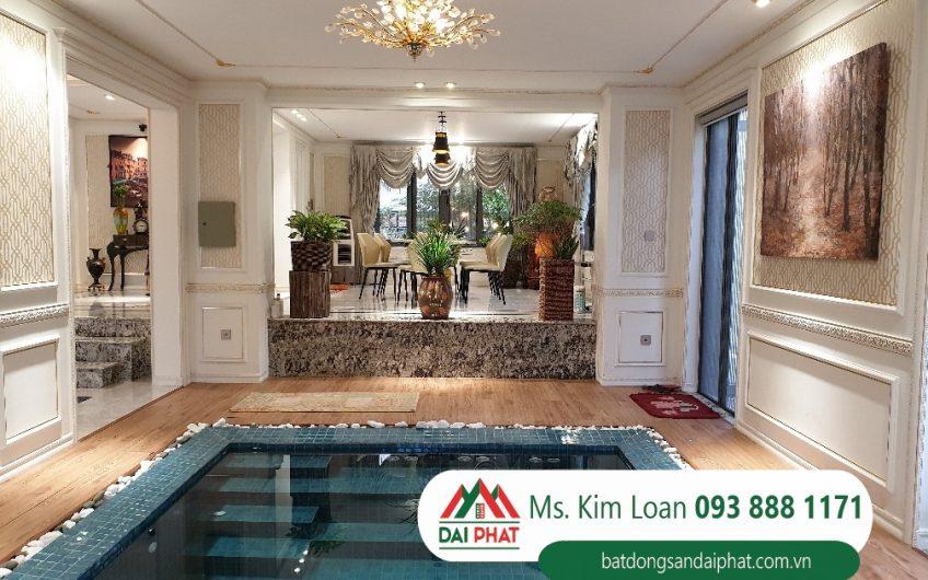 Bán biệt thự Phú Mỹ Hưng căn góc, view trực diện công viên, nhà đẹp có hồ bơi. Giá 59 tỷ