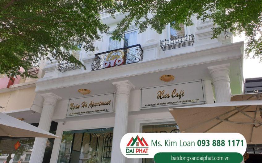 Bán căn hộ dịch vụ mới và đẹp khu Hưng Gia 5, Phú Mỹ Hưng, quận 7 giá 80 tỷ TL