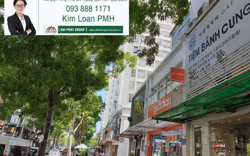 Cho thuê shop tại phố Hàn Quốc, Phú Mỹ Hưng giá rẻ hạt dẻ 3000$/tháng